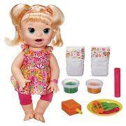 Baby Alive Super Snacks Snackin' Sara Blonde