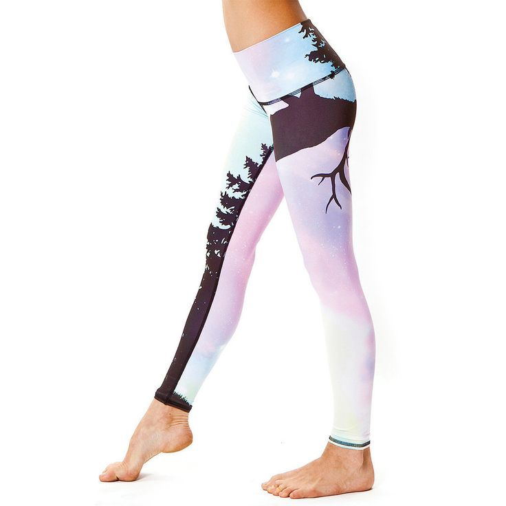 These Teeki Northern Lights Pants ($66) are eco-friendly, fashionable, and completely different than anything you've seen on the shelves of other fitness stores — get ready to make a statement and wear these pants! I love them for yoga, dance class, running, grocery shopping, or just watching TV. The light fabric used from recycled plastic bottles is formfitting and comfortable, plus they stretch and feel light enough to keep me cool.   — Anna Renderer, fitness host