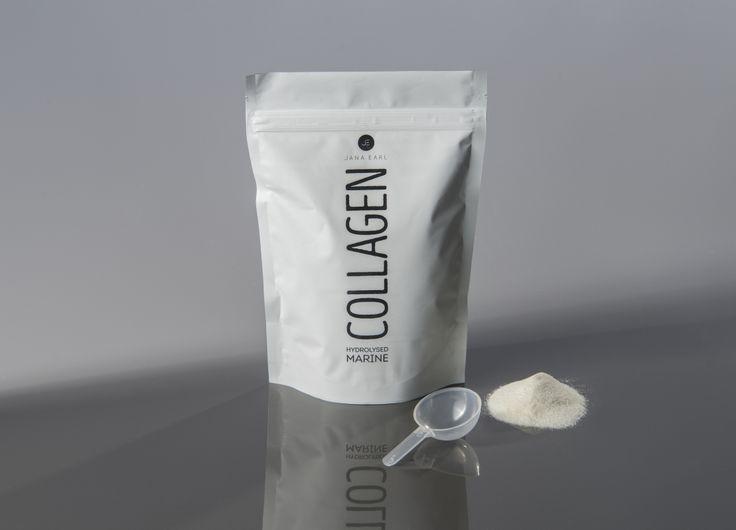 Hydrolyzovaný rybí kolagén 210g - Jana Earl - Fitness & Nutrition