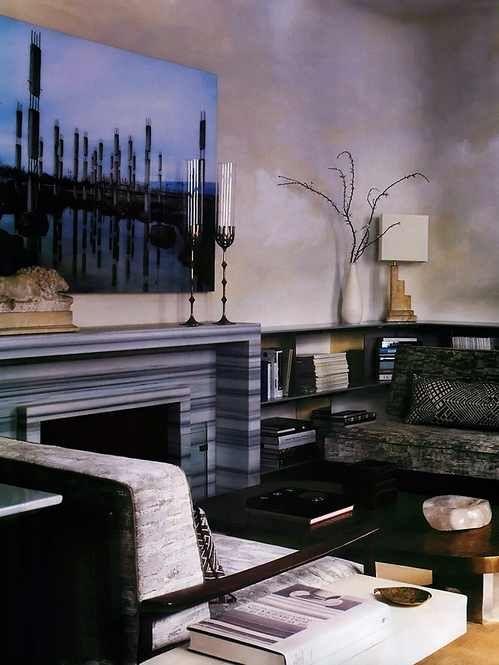 Beautiful fireplace!