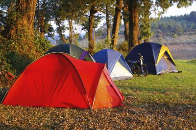 Tents can be expensive... learn when it's a good time to rent one! ;)