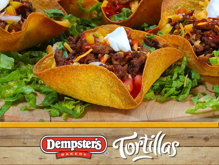 Use that creativity and make a Tortilla Taco Salad Bowl for you and your family! @Dempster's® Bakery #WrapItUp