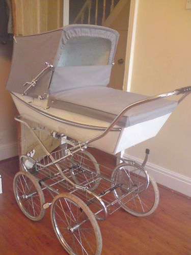 Vintage Silver Cross Pram. I had a red one like this for my first child in 1974.