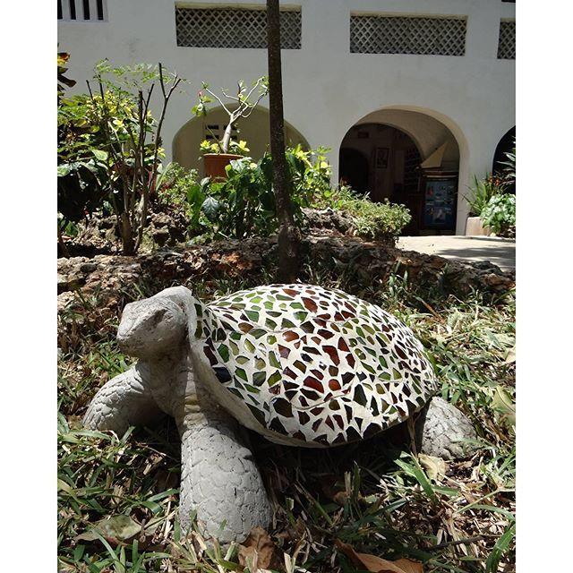 @Kenyaways #mosaic #turtle #Kenyaways #Maasai #DianiBeach #luxuryaccommodation #luxurytravel #Kenya #Africa #Exploramum #Explorason  #relaxed #hideaway