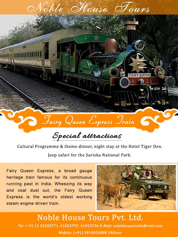 Steam Engine Express Train Tour India | Best Holiday