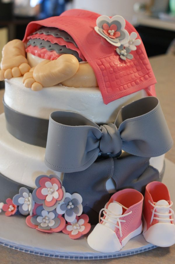 21 Perfect Baby Bottom Cakes for Baby Showers