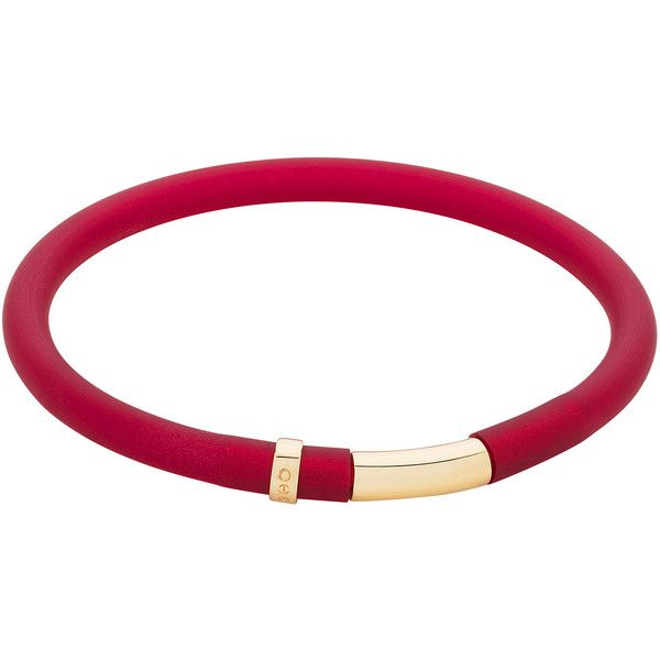 Sarah Ho - SHO - POP! Bracelet Small Classic Red (€67) ❤ liked on Polyvore