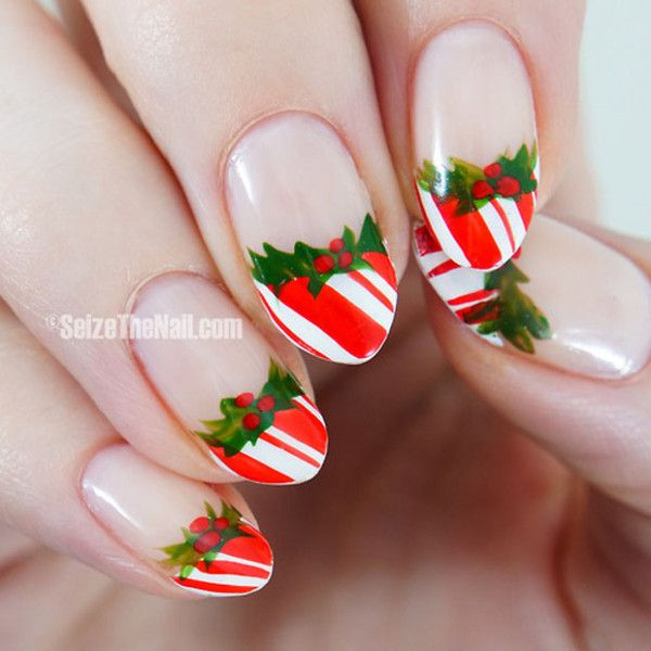 31 Attractive Christmas and New Year's Eve Nail Art Designs That Will Leave You Breathless