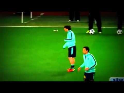 funny football - Lionel Messi Funniest Skill