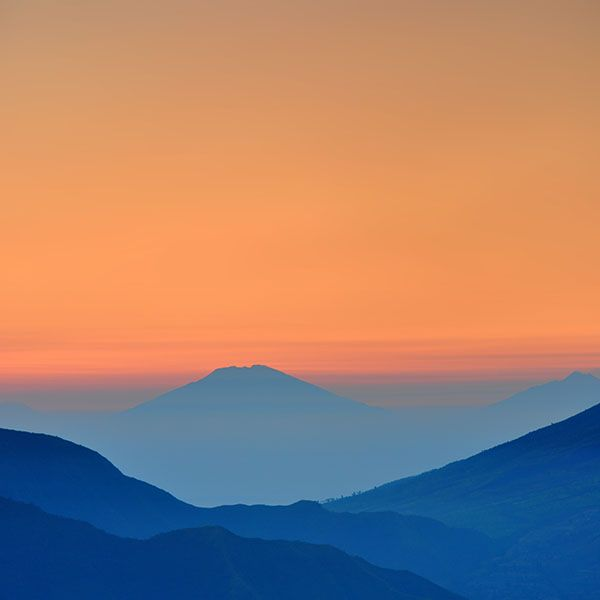 Papers.co wallpapers - an90-landscape-sunrise-mountain-nature-red-blue - http://bit.ly/1QU1LKh - mountain, sky
