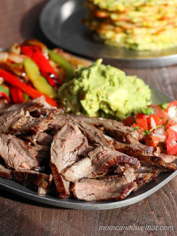 This traditional recipe for fajitas is easy and always the best. | low carb, gluten-free, dairy-free, paleo, keto, thm |