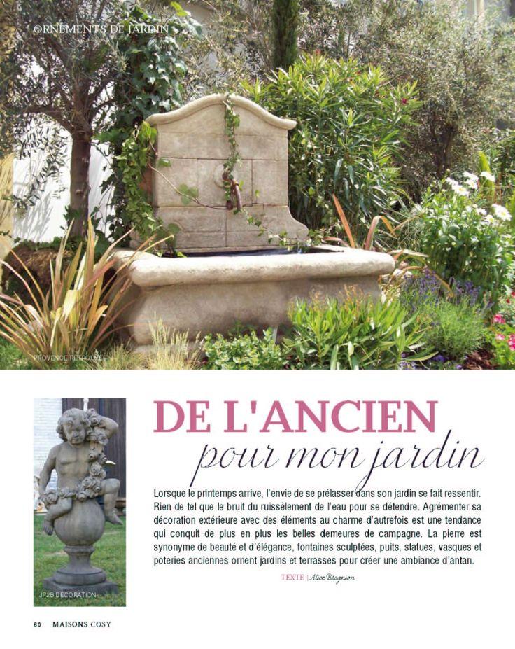 Les 25 meilleures id es concernant fontaine en pierre sur pinterest fontaines de jardin for Fontaine de jardin en pierre ancienne