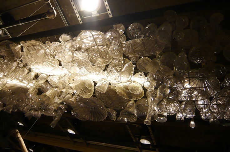 Chandelier - Urban Outfitters NYC