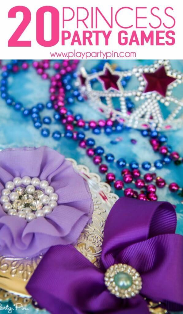 Girls will love all of these princess party games and other fun princess party ideas and Cinderella party ideas!