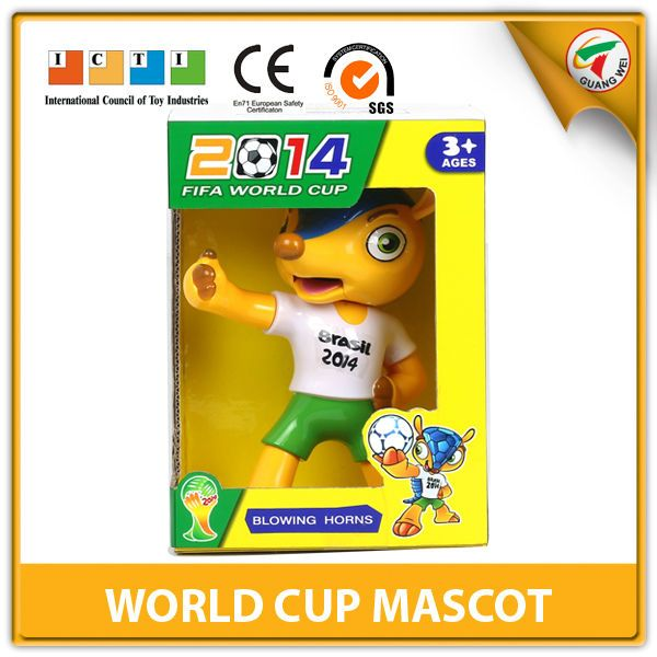 #horns for football games, #2014 brasil world cup mascot, #party cheering horn