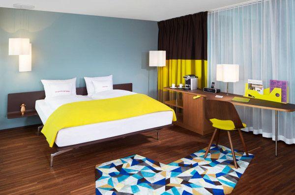 Hotel Zurich West #hotelinteriordesigns