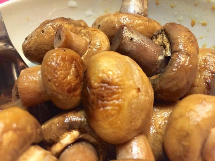 Gebakken champignons in ketjap | Wessalicious
