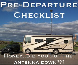We put together this checklist after we bought our RV and use it every time we pack up the RV and move to a new destination.
