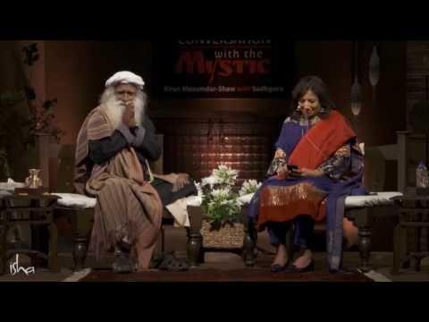 (6) Kiran-Mazumdar Shaw in Conversation with Sadhguru - YouTube