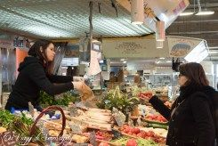 Mercato Bordeaux vendita frutta e verdura
