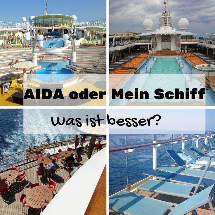 AIDA oder Mein Schiff - was ist besser?