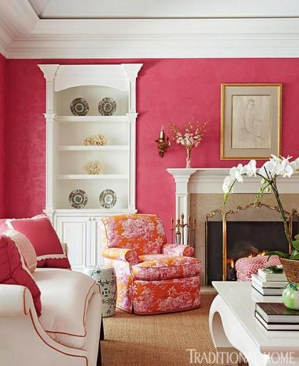 28 best Red living room images on Pinterest | Living room, Homes and ...