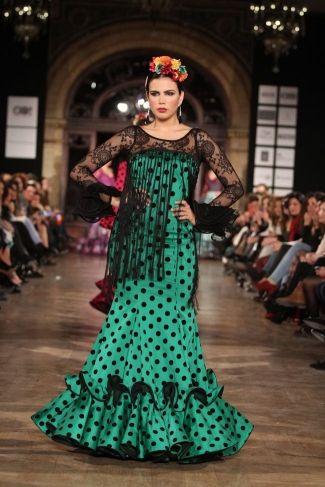 Traje de Flamenca - Manuela-Macias - We-Love-Flamenco-2016