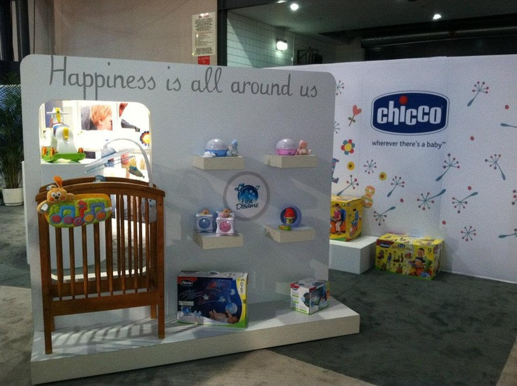 Chicco USA, Toy Faire 2012. — at Jacob Javits Convention Center.    Trade show Exhibit