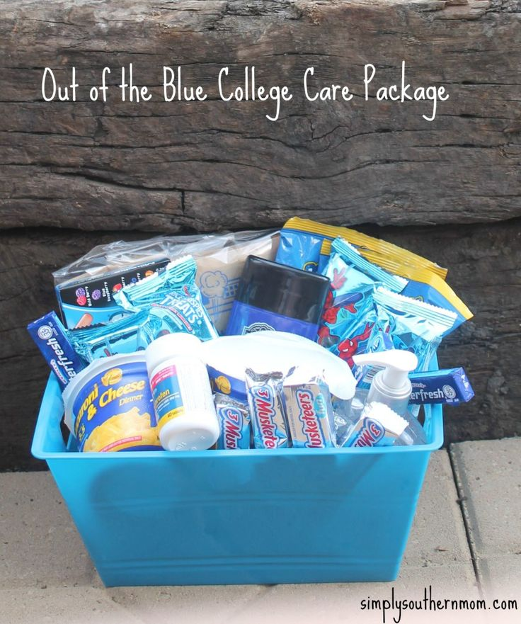 Out of the Blue DIY College Gift Basket http://www.simplysouthernmom.com/2015/07/out-of-the-blue-diy-college-gift-basket.html?utm_content=bufferc5942&utm_medium=social&utm_source=pinterest.com&utm_campaign=buffer #CreativeHOP
