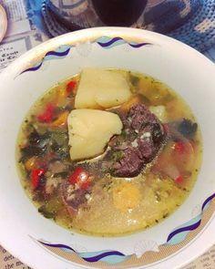 #Κρεατόσουπα με #τραχανά #cookpadgreece