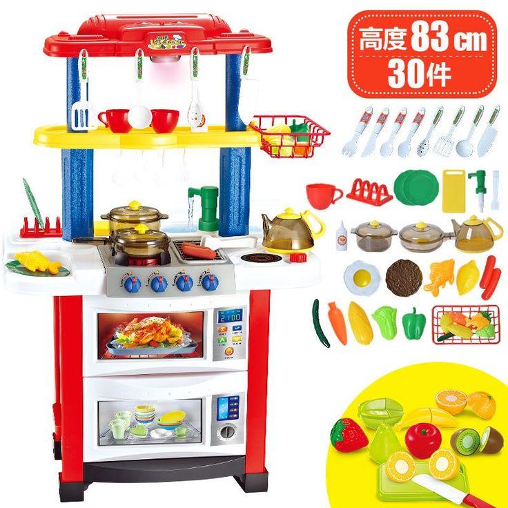59.80$  Buy now - http://alifue.shopchina.info/go.php?t=32809251452 - Child Happy Birthday Cake Toy Baby Simulation Kitchen Fruit Crochet Little Girl Birthday Gift  #bestbuy