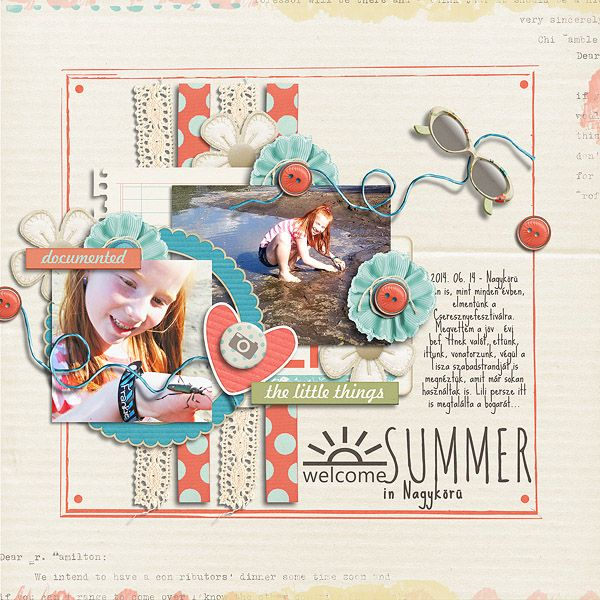 Fair Days by Little Green Frog Designs