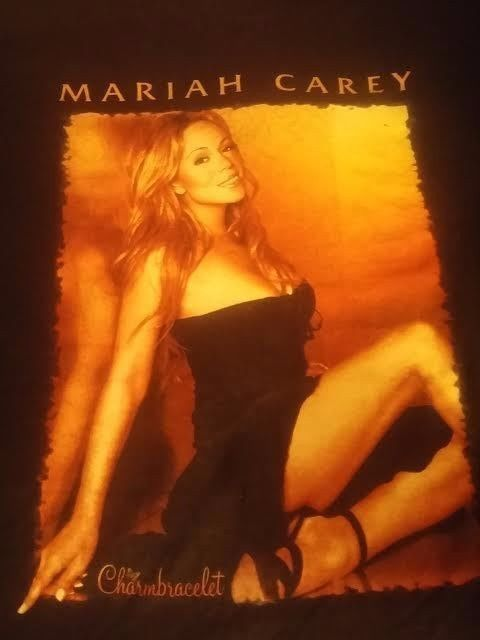 Mariah Carey Rare vintage shirt World Tour Charmbracelet 2003 (only one on eBay) in Entertainment Memorabilia, Music Memorabilia, Rock & Pop | eBay