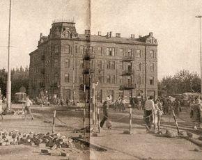 róg Emilii Plater i alei Jerozolimskich