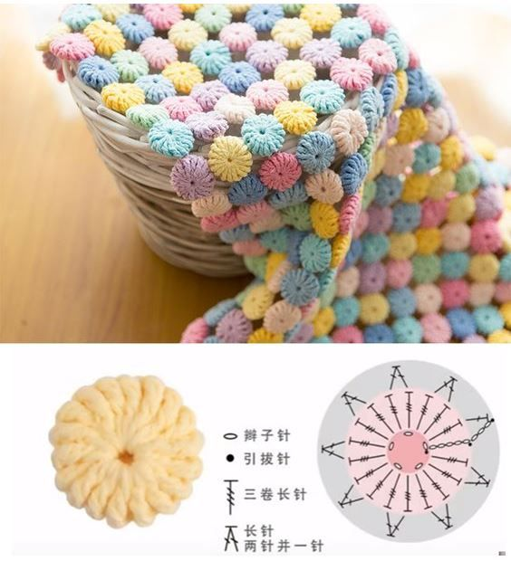 Crochet Yoyo Patterns : 17 Best images about Crochet Blankets on Pinterest ...