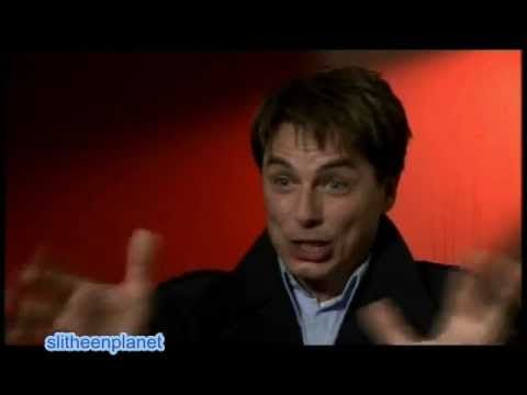 John Barrowman and David Tennant react to learning that Captain Jack is the Face of Boe.