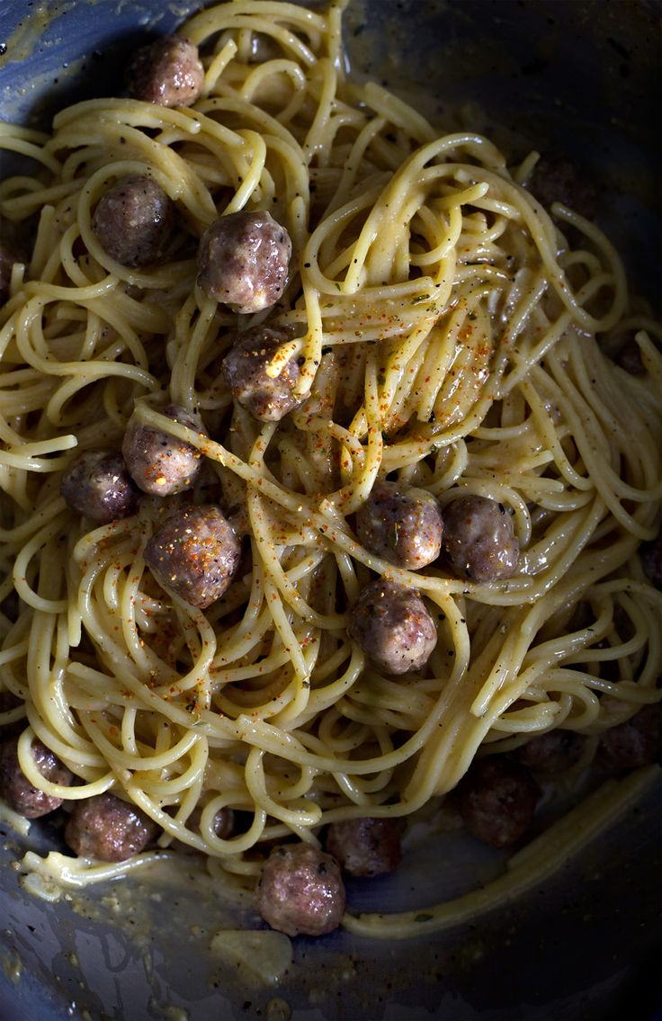 Sausage Meatballs And Spaghetti America S Test Kitchen