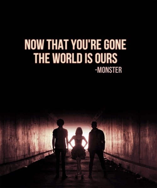 The world is ours.