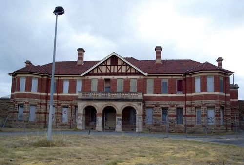 Swanbourne Asylum  Said to be haunted by the ghosts of former patients.