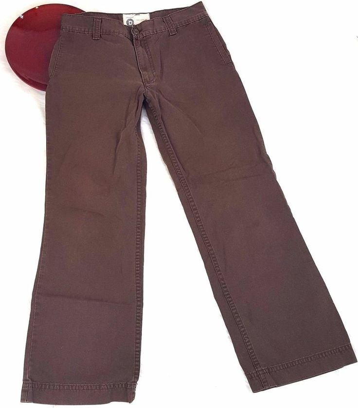 Dockers Series Mens Pants Size 34 x 34 Brown Straight Leg Chino Khakis Casual #DOCKERS #Chinos