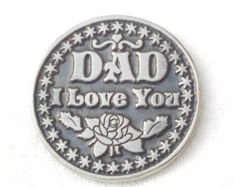 Sentimental love token coins are the perfect gift for any occasion.  Light and easy to carry in the pocket to remember the person that gave you this token.  Everyone will be happy to receive this little souvenir and it will put a smile on everybodys face.  This coin makes a beautifully unique love token/pocket token, with a sweet saying for your loved one, they can carry this with them always.  Important: not personalized. the messages stamped on the coin are the only ones I have.  Dime...