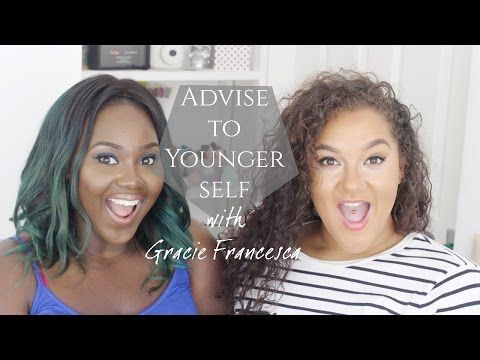 ADVICE TO YOUNGER SELF W/ GRACIE FRANCESCA + TIPS ABOUT BOYS, FRIENDS AND SCHOOL! - YouTube