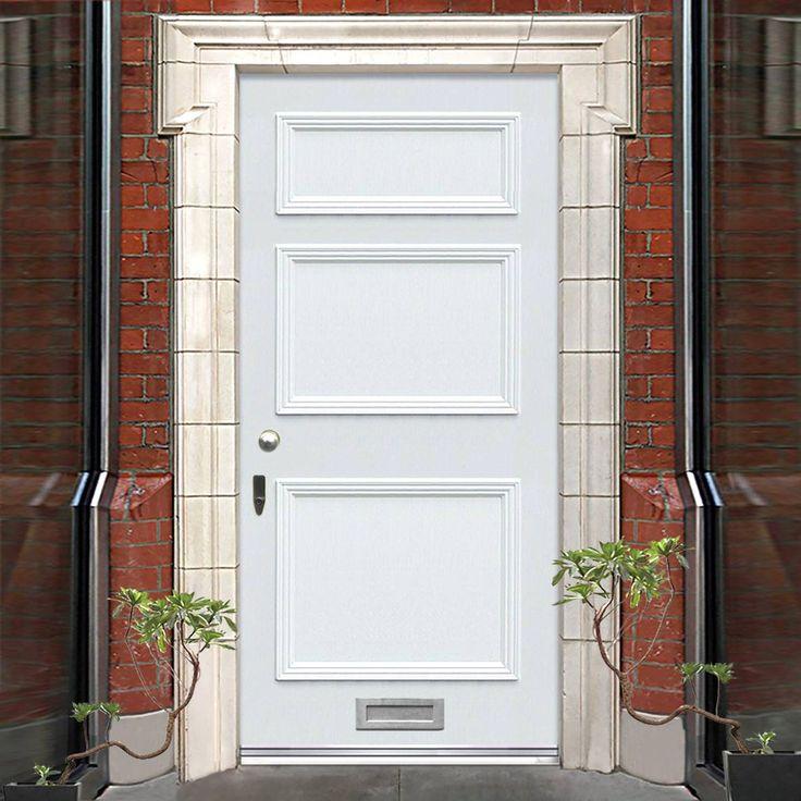 Made to order exterior door, Victorian Seacole door - made to measure to your individual sizes. #victoriandoor #traditionalenglishdoor #solidfrontdoor