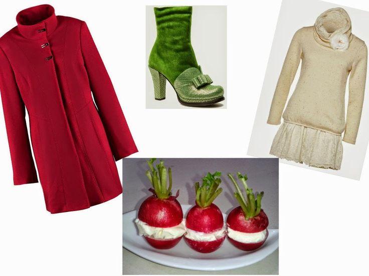 Un outfit ed antipasto tutto....spiritoso!!! - Italian Food And Style