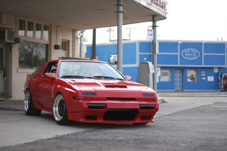 Mitsubishi Starion .  Jackie Chan, drove one in cannonball run