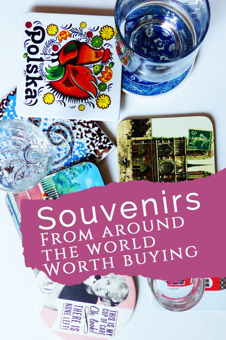 Souvenirs from around the World Worth Squeezing into Your Suitcase | Travel on the Brain