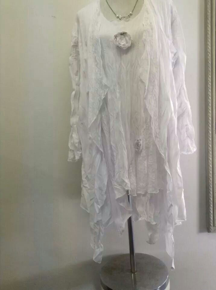 White outfit very affordable