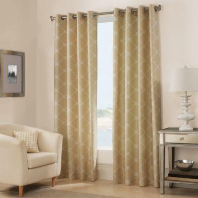 West Bay Grommet Window Curtain Panel   BedBathandBeyond.com