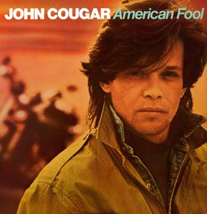 """John Cougar - American Fool (1982); This album became his breakthrough, both commercially and musically. American Fool rocketed to number one on the strength of the number two hit """"Hurts So Good"""" and the number one single """"Jack & Diane,"""" both of which were supported by videos that became MTV favorites."""