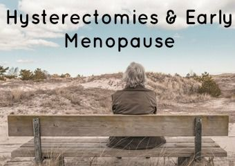 Hysterectomies & Early #Menopause http://www.ladycare-uk.com/blog/advice-for-menopause/hysterectomies-early-menopause/